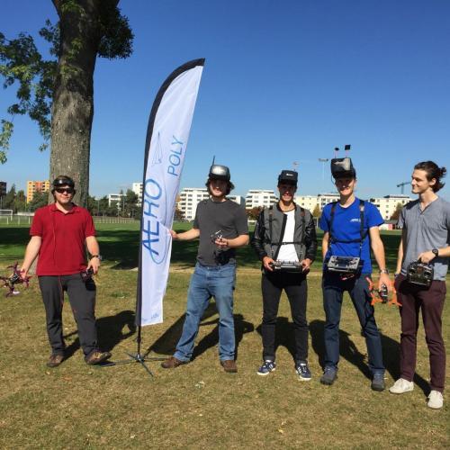 Aeropoly drone team